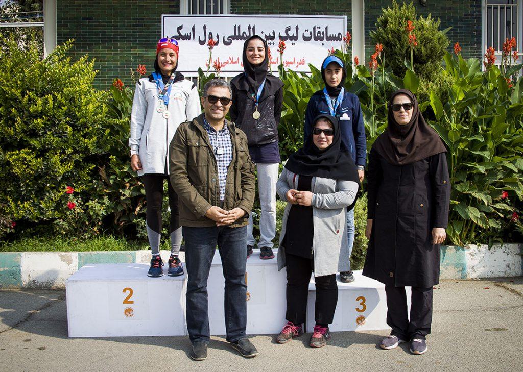 گزارش تصویری از مسابقات رول اسکی در مجموعه ورزشی تختی تهران