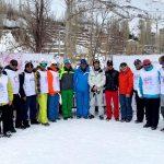 برگزاری جشنواره روز جهانی برف در پیست اسکی دربندسر و با حضور سید عبدی افتخاری رییس فدراسیون اسکی