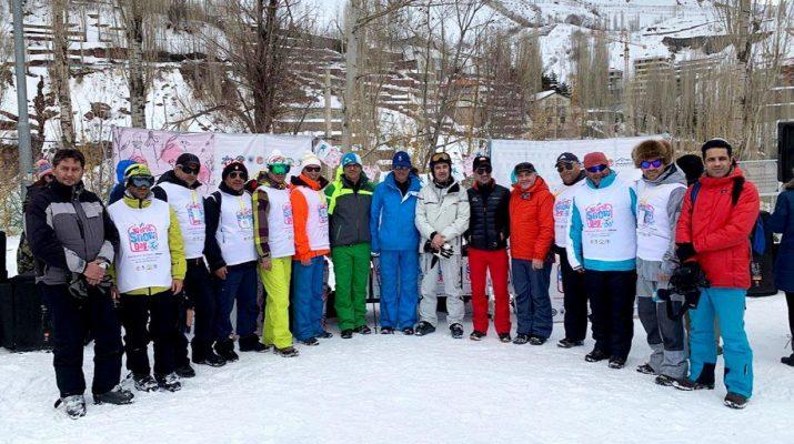 برگزاری جشنواره روز جهانی برف طبق قوانین فدراسیون جهانی اسکی در پیست اسکی دربندسر و با حضور سید عبدی افتخاری رییس فدراسیون اسکی