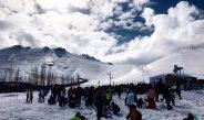 هفتمین جشنواره روز جهانی برف در پیستهای مختلف اسکی ایران امروز در پیست اسکی آبعلی برگزار شد