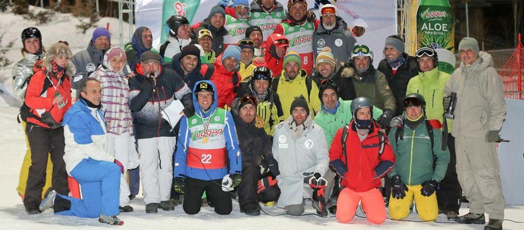 برگزاری مسابقات اسکی شهرنشینان استان تهران در پیست اسکی دربندسر